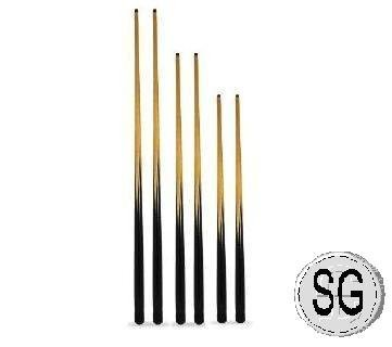 6 ASSORTED CUES WHICH INCLUDES 2 EACH OF 57, 48 AND 36 + SPARE TIPS ** by SGL