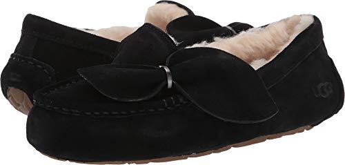 UGG Women's Ansley Twist Black 12 B US (Ugg Ansley Slippers)