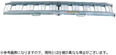 【昭和】 アルミブリッジ NSBW-180-30-0.8 【フック式】 【有効長さ1800×有効幅300(mm)】 【最大積載0.8t/セット(2本)】
