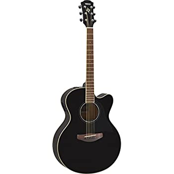 yamaha cpx600 bl acoustic electric guitar black musical instruments. Black Bedroom Furniture Sets. Home Design Ideas