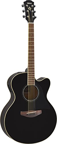 Yamaha CPX600 BL Acoustic-Electric Guitar, Black