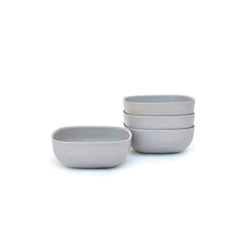 wl Set, Service for 4, BIOBU Eco-material, Indoor/Outdoor dining, Stone (Grey) ()
