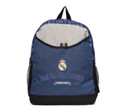 (Real Madrid Soccer Team Backpack for Boys/Girls/Unisex)