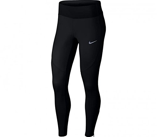 Nike Womens SHLD TGHT, BLACK/BLACK, M by NIKE