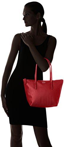 Lacoste NF2037PO L1212 Concept Bolso para Mujer Rojo