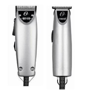 Oster Silver Combo Fast Feed and T finisher Limited Edition Made in the USA Package deal. (Oster Trimmer T Guards)