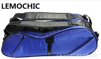 Petsdelite® Lemochic Outdoor Gym Travel Duffle Bolsa de Bã¡Dminton Mochilas Deportivas Paquete de