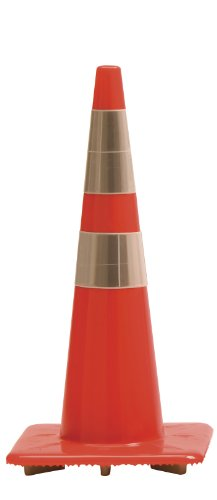 Work Area Protection 28PVCTLH Polyvinyl Chloride Trimline Heavy Traffic Cone with 6