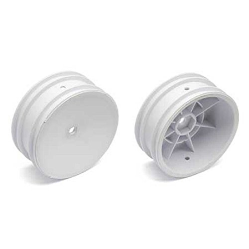 Team Associated 9690 2.2 Front Wheel with 12mm Hex, White (2)