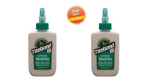 Waterproof Titebond III Wood Glue,2 Pack