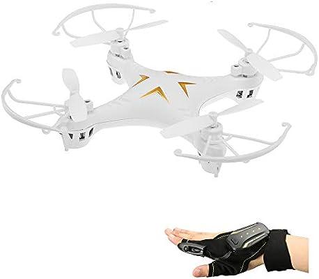 Goolsky 2.4G Glove Control Interactivo Mini Drone con Altitude ...
