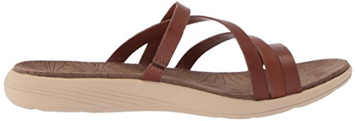 Merrell Merrell Seaway Women's Flat Slide Oak Duskair Sandals LTR HHAZRa
