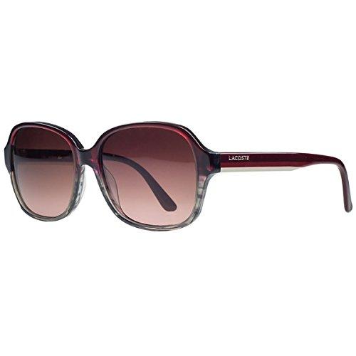 Lacoste Sunglasses - L735S (Red/Grey Striped)