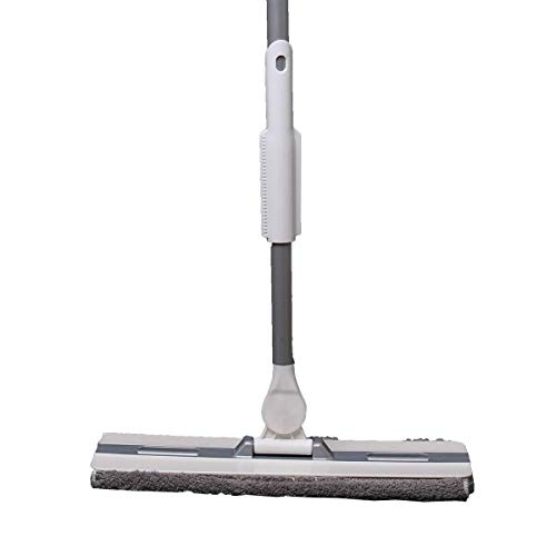 PICAD Microfiber Flat Mop Multi Slots Switch for Cleaning Hardwood and Floors, Includes: 1 Mop, 1 Dirt Removal Scrubber, 2 Pads Refills by PICAD (Image #3)