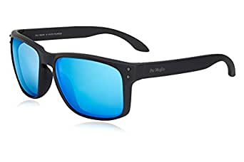 Sunglasses for Men - Polarized Nylon Lens UV Protection- Cut Glare Vision Comfort - FDA Approved | TR90 Frame by Per Meglio