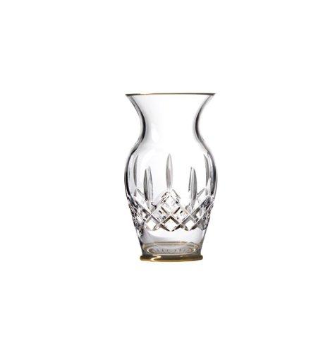 WATERFORD Lismore Gold Vase 8