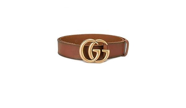 600ac9b86f406 Gucci - Cinturón - para mujer Marrón marrón 18  Amazon.es  Ropa y accesorios