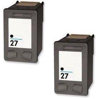 Prestige Cartridge 2 NEGRO Compatible 27 Cartuchos de tinta para HP Deskjet 3320 3325 3420 3520 3535 3550 3620 3650 5650 5850 Fax 1240 PSC 1110 1205 ...