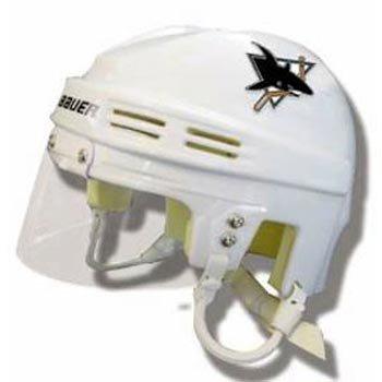 Bauer NHL San Jose Sharks Replica Mini Hockey Helmet