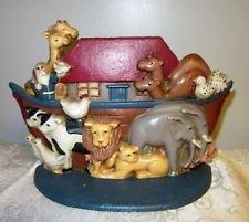 - Midwest Importers Vintage Cast Iron Noah's Ark Bible Story Door Stop