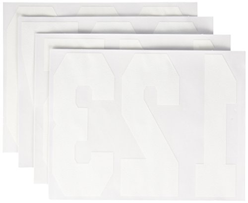 "Dritz Iron-On Letters 8""  Numbers - white"