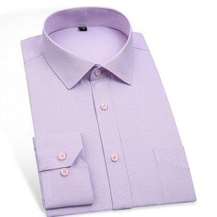 Lisa Gonza Mens Clothing Fashion Summer Spring Shirt Slim Fit Casual Dress Shirt Long Sleeve Plus