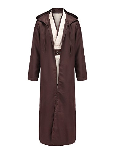 Adults Quality For Costumes (COSFANCY JEDI COSTUME FULL SET)