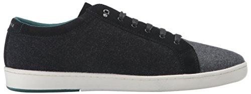 Ted Baker Hombres Minem Sneaker Dark Gray Wool