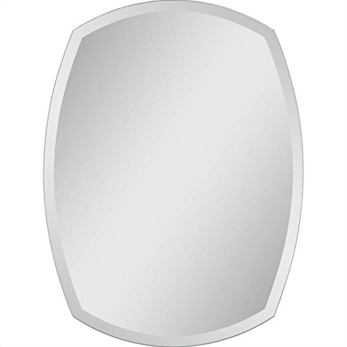 Ren-Wil MT950 Wall Mount Mirror by Jonathan Wilner and Paul De Bellefeuille, 32 by 24-Inch from Ren-Wil
