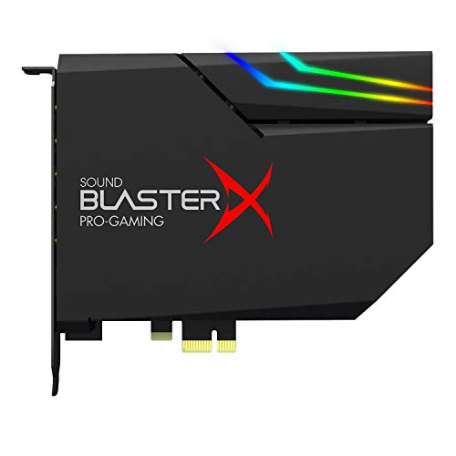 Creative 70SB174000000 Sound BlasterX AE-5 Hi-Resolution PCIe Gaming Sound Card (Best Sound Card 2019)