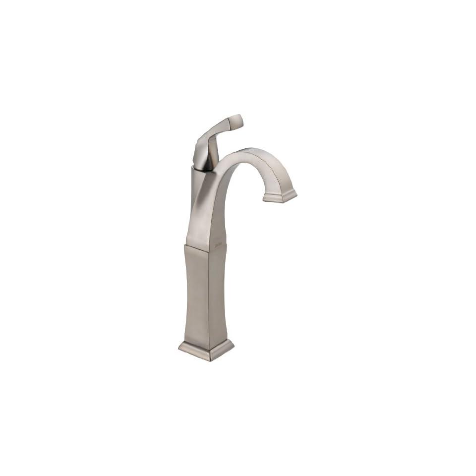 Delta 751 SS DST Dryden Single Handle Centerset Lavatory Faucet   Less Pop Up, Stainless