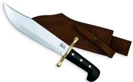 Case Bowie Black Handle Knife
