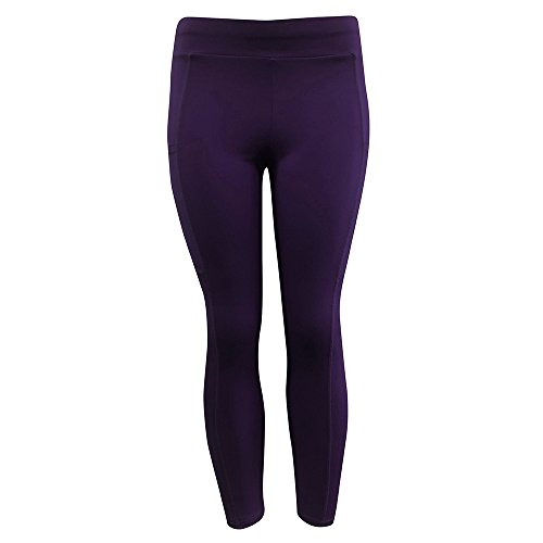 (URIBAKE ❤ Women's Workout Leggings Mid Waist Solid Fitness Sports Gym Running Yoga Athletic Pants)