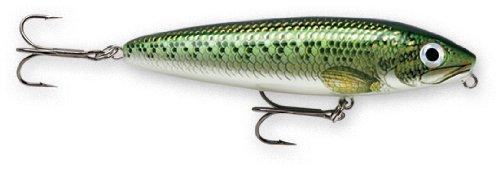 Rapala Skitter Walk 08 Fishing lure, 3.125-Inch, Baby Bass