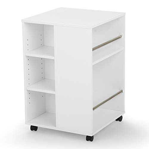 Arrow Mobile 4 Sided Sewing Accessories Storage Cube - White (Ribbon Scrapbook Storage)