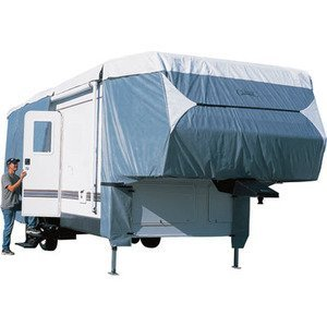 Vortex Marine Grade Canvas Top 23 24 25 26 Ft 5th Fifth Wheel All Weather Camper Cover, 102