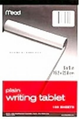 Mead 6X9plain Writing Tablet (Pack Of 6) 70104 Paper (Mead Writing Tablets)
