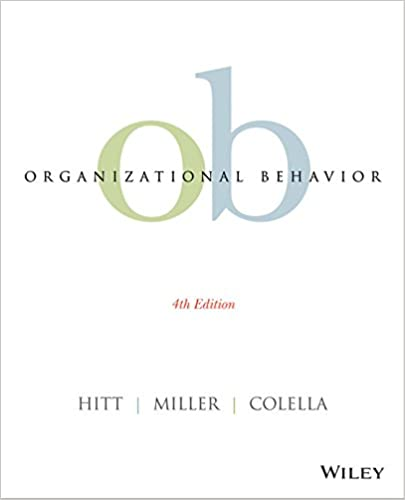 Organizational Behavior 4th Edition EBook