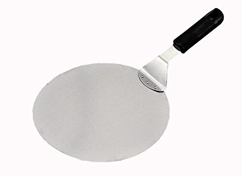 C& L Large 10 Pizza Peel Stainless Steel Lifter Transfer Cake Pie Tarts Pencake Bakery Spatula Server Tool