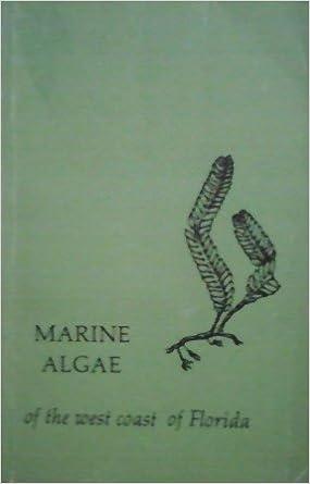 Marine Algae of the West Coast of Florida