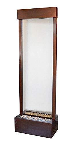 BluWorld Tall 6' Dark Copper Gardenfall with Clear Glass