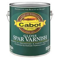Interior Gloss Varnish (Cabot 144.0018040.007 VOC Gloss Spar Varnish Interior / Exterior - Oil-Based - 1)