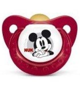 Pack 2 chupetes Mickey Mouse de Disney. Tetinas de caucho ...