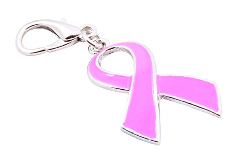 Baumgartens Breast Cancer Key Chain-Pink - Awareness Key Chain