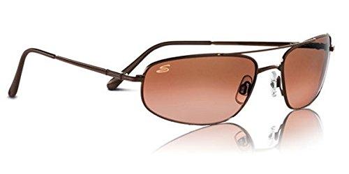 Serengeti Velocity Sunglasses (Aviator), Titanium Non Polarized Drivers Gradient Lenses