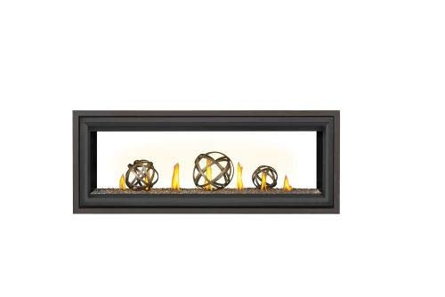 Vector LV50 Direct Vent See-Thru Gas Fireplace Package3 - NG