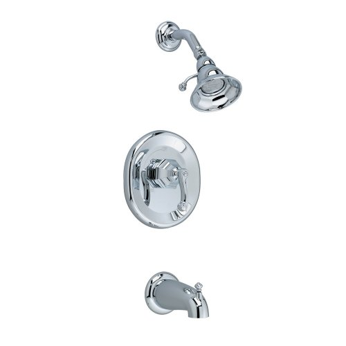 American Standard T028502.002 Dazzle Bath and Shower Trim Kit, Polished Chrome