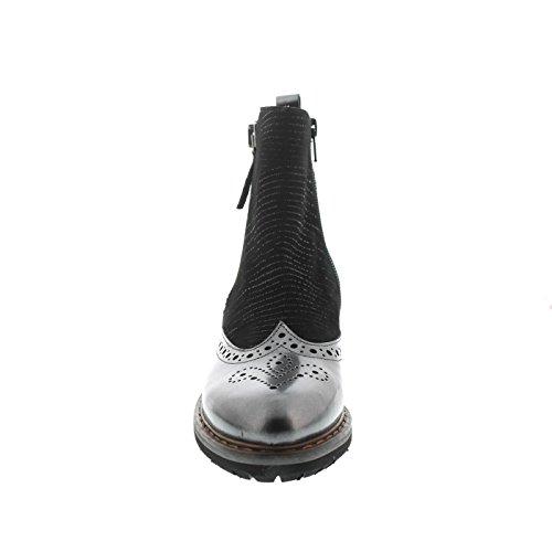 Carolina 32055014 Noir Pour Femme Bottes Donna vwBxaqw