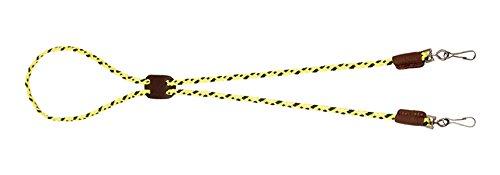 Mendota Products Dog Whistle Lanyard, Double, Hi-Viz Yellow, 1/8 x 25-Inch
