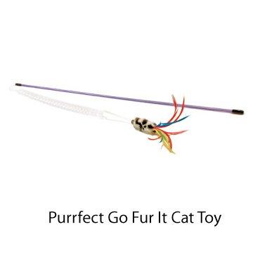 Vee Purrfect Go Fur It Cat Toy, My Pet Supplies